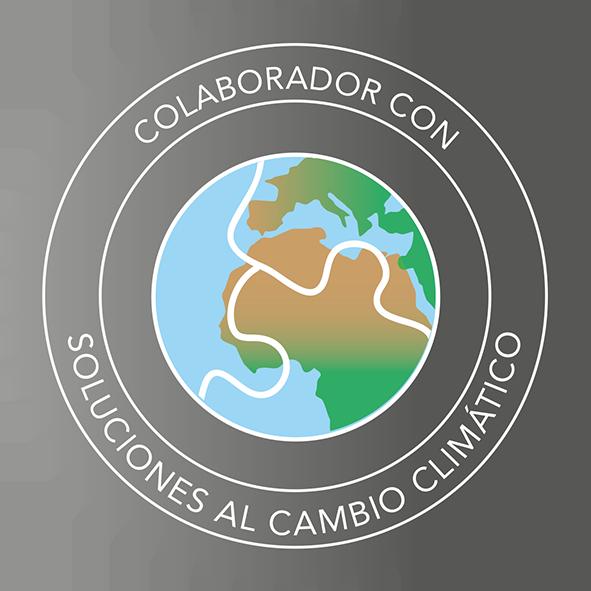 Esto es una insignia que demuestra que deseo soluciones al cambio climático