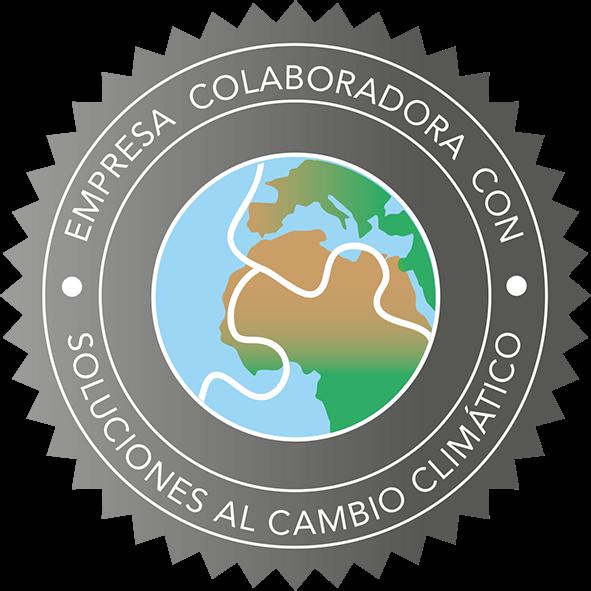 Esto es una insignia que demuestra que deseamos soluciones al cambio climático