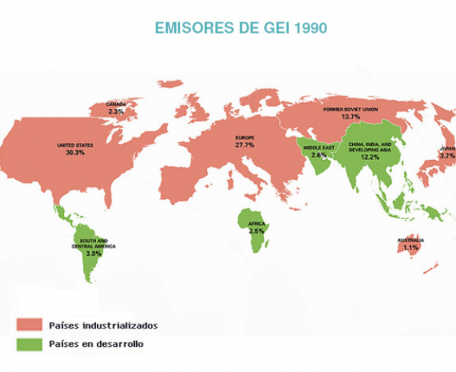 emsiones 1990